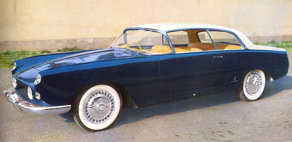 Lancia Florida (Pininfarina), 1955 - 2-door | Adrenaline Capsules ...