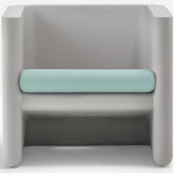 Photo of Pedrali Sunset Sitzpolster für Sessel Sitz- & Rückenkissen weiß Pedrali