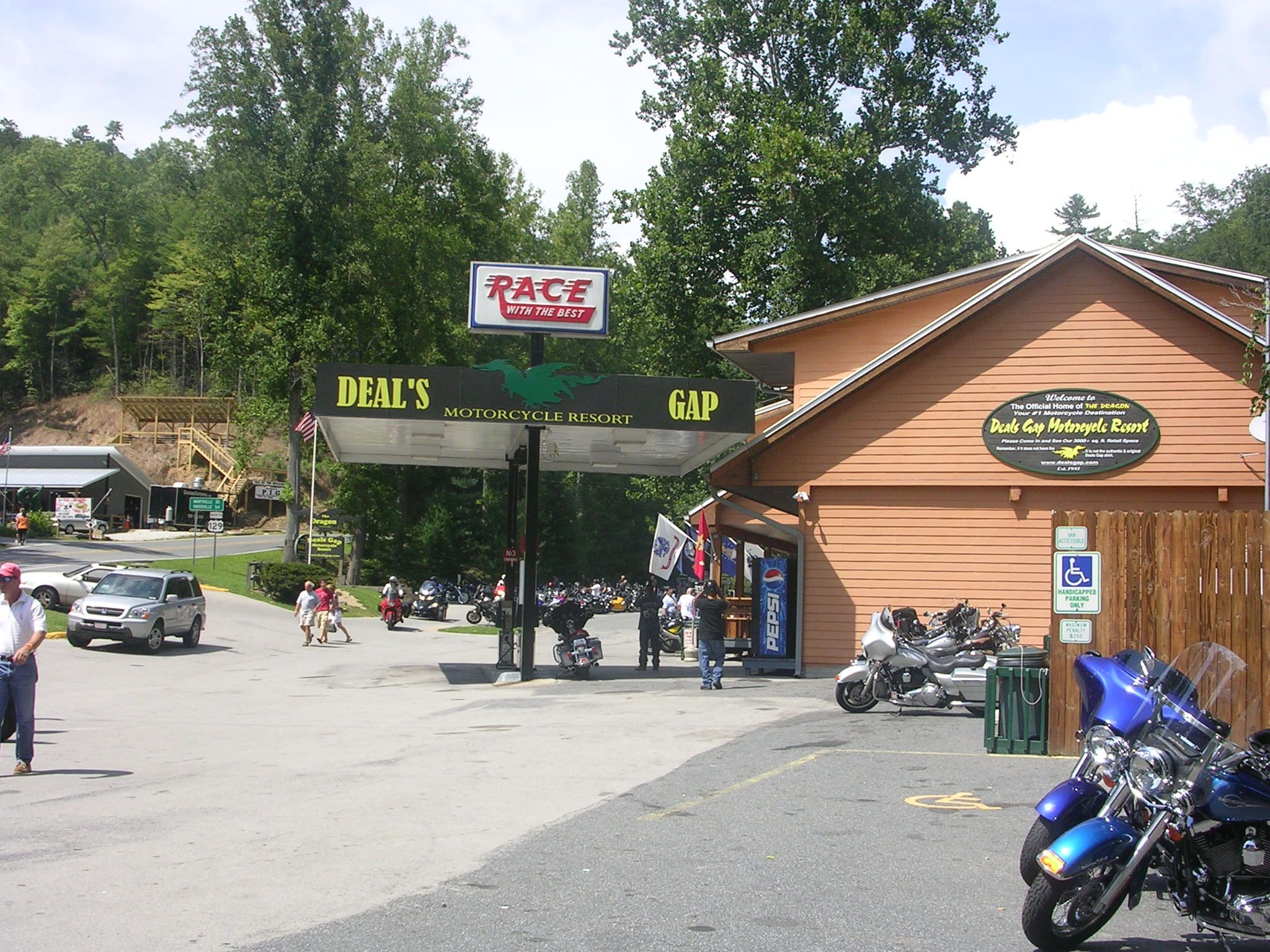 Deals Gap Tail Of The Dragon Motorcycle Rides Bbq Tennessee
