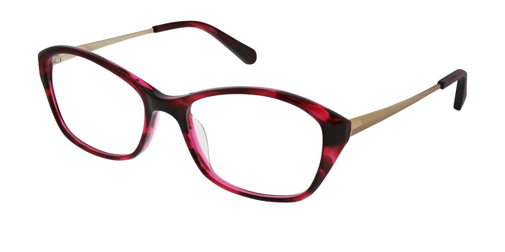 Rot ist diese #Brillensaison super angesagt! Die Kombination der ...