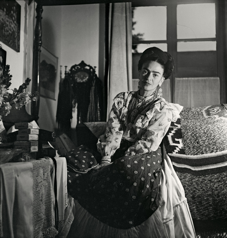 Kahlo, 1951. Gisèle Freund.