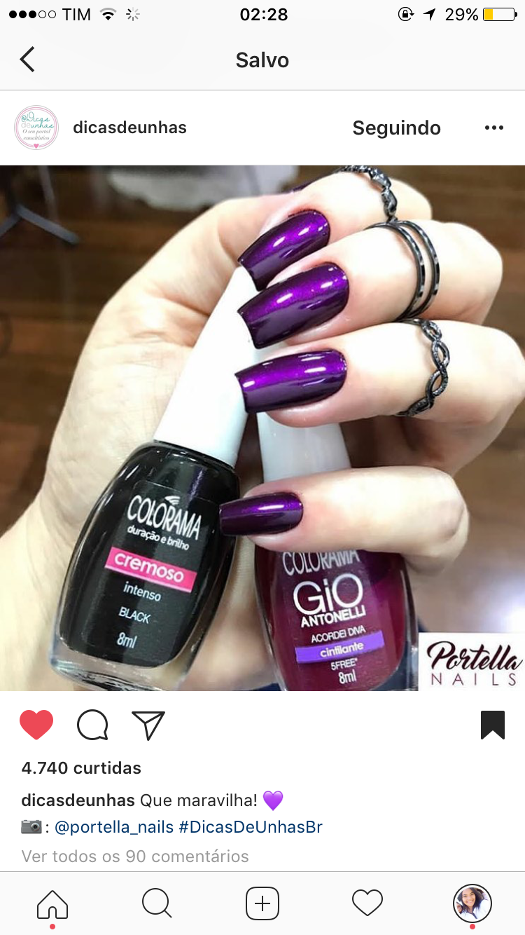 Pin by ana rodrigues on unhas pinterest