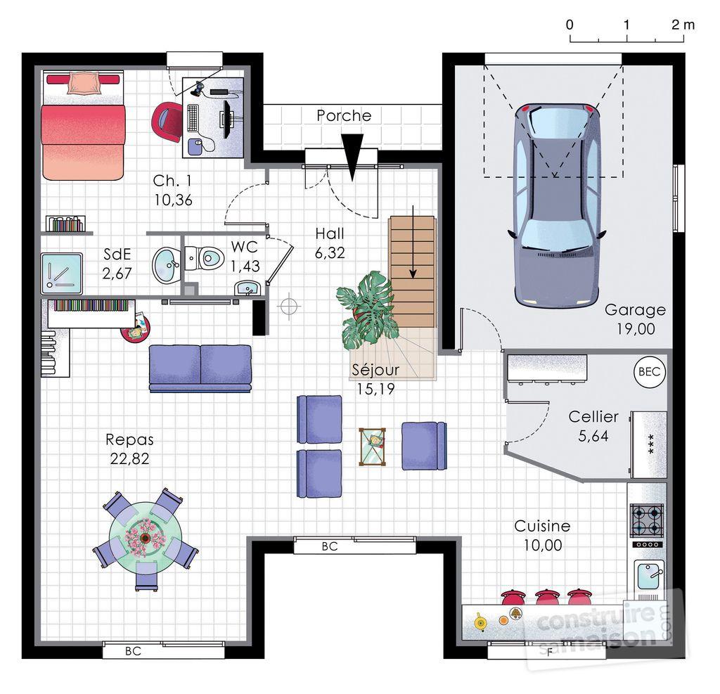 Hervorragend Maison familiale 9 | Maisons familiales, Familiale et Plans de maison LB64