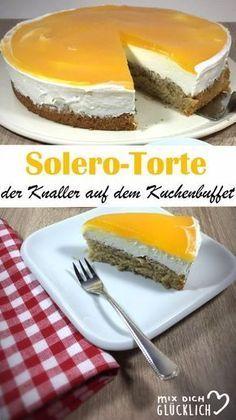 Solero-Torte. Der Knaller auf dem Kuchenbuffet. #leckerekuchen