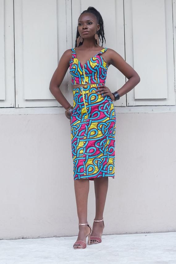 African Top, Ankara Print Top, African Print Top, African Clothing, African Print Clothing, African #africanprintdresses