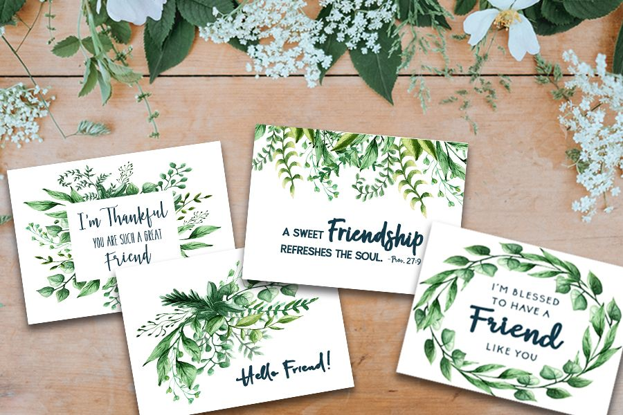 Free Printable Friendship Cards More Like Grace Free Printable Cards Free Printable Greeting Cards Valentines Printables Free