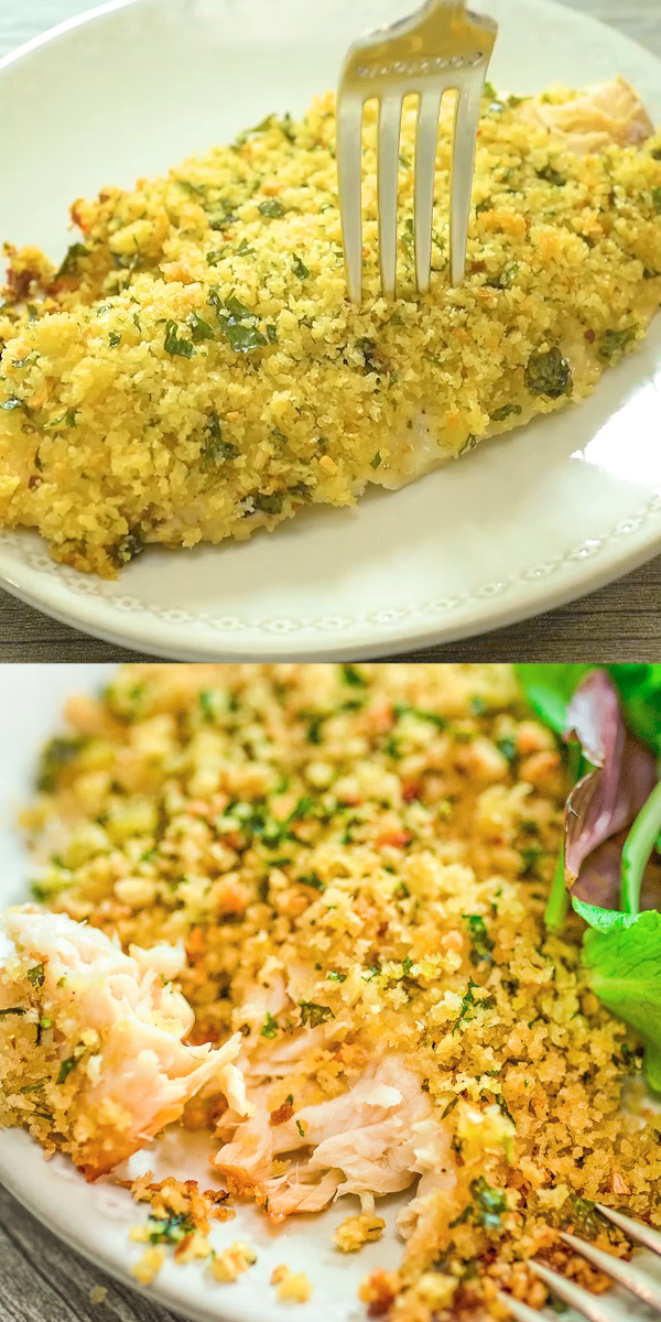 This Baked Breaded Tilapia Recipe Is A Keeper Succulent
