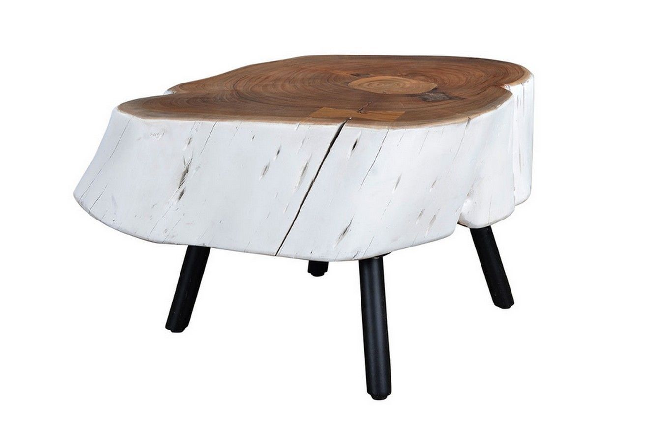 Couchtisch Tranche Weiss Kleinmöbel U0026 Beisteller Vintage U0026 Retro  Möbel