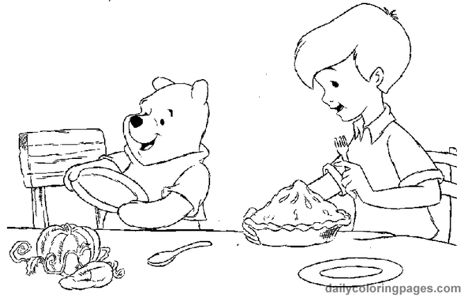 Thanksgiving Coloring Pages Winnie The Pooh Thanksgiving Coloring Pages 02 Thanksgiving Coloring Pages Coloring Pages Fall Coloring Sheets