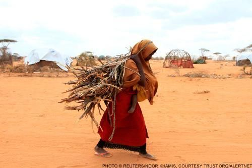 Famine was declared in Somalia in July, 2011.