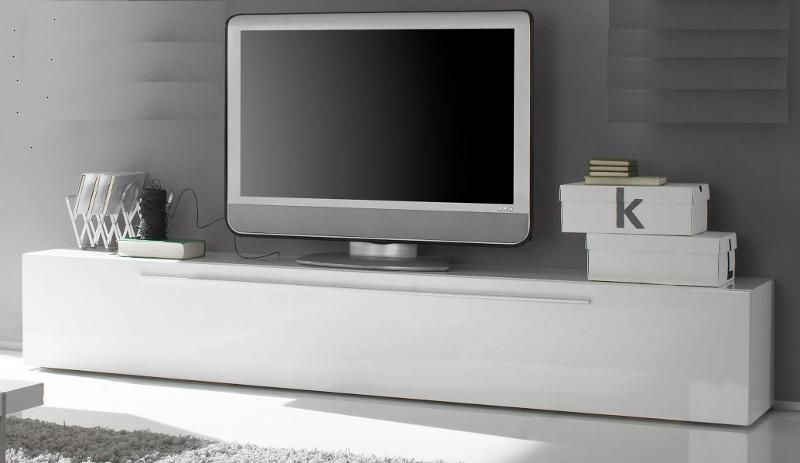 lowboard tv unterteil wei hochglanz lack italien splendore13 designerm bel moderne m bel. Black Bedroom Furniture Sets. Home Design Ideas