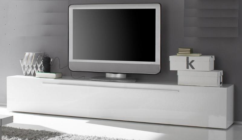 Tv lowboard weiß modern  Lowboard TV - Unterteil weiß Hochglanz Lack Italien Splendore13 ...