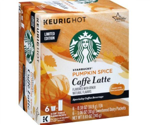Starbucks Caffe Latte K-Cup Pods Sample