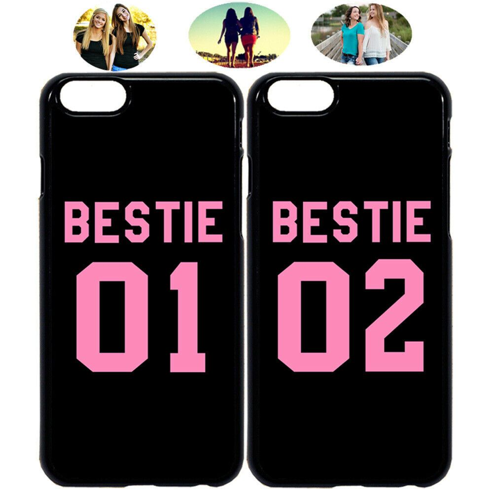 Bestie 01 Bestie 02 Best Friend Phone Case Cover For Iphone 11 Xr 7 8 S10 S20 Bestfriend Phone C In 2020 Friends Phone Case Bff Phone Cases Iphone Bff Phone Cases