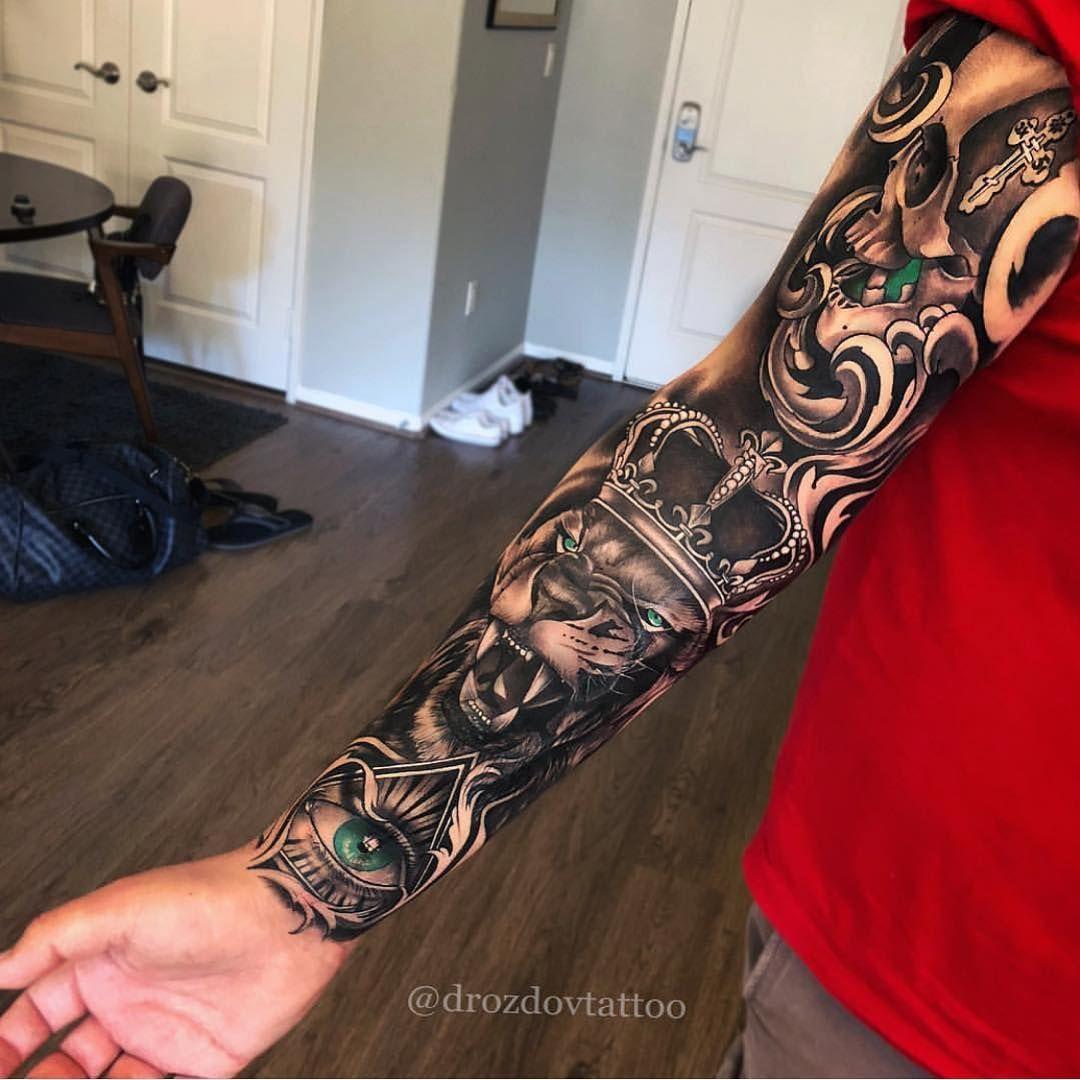 18 Tatuajes manga brazo hombre