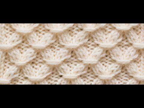 8c0728f5f8419 ÇİÇEK ZİNCİRİ Örgü Modeli  Knitting Stitch Patterns Tutorials - Knitting  Stitch How to - YouTube