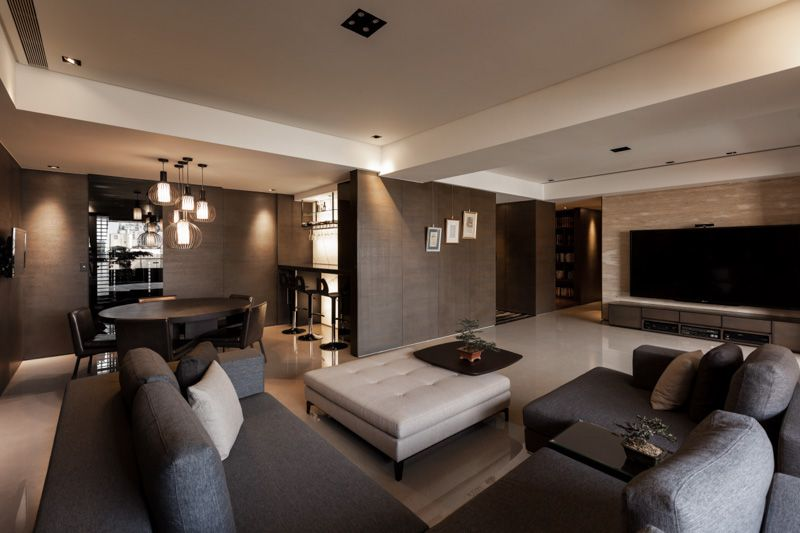 Aura Lifestyle Four Projects Of 2013 Apartment Decor Ceiling Design Living Room Home Modern living room designs 2013