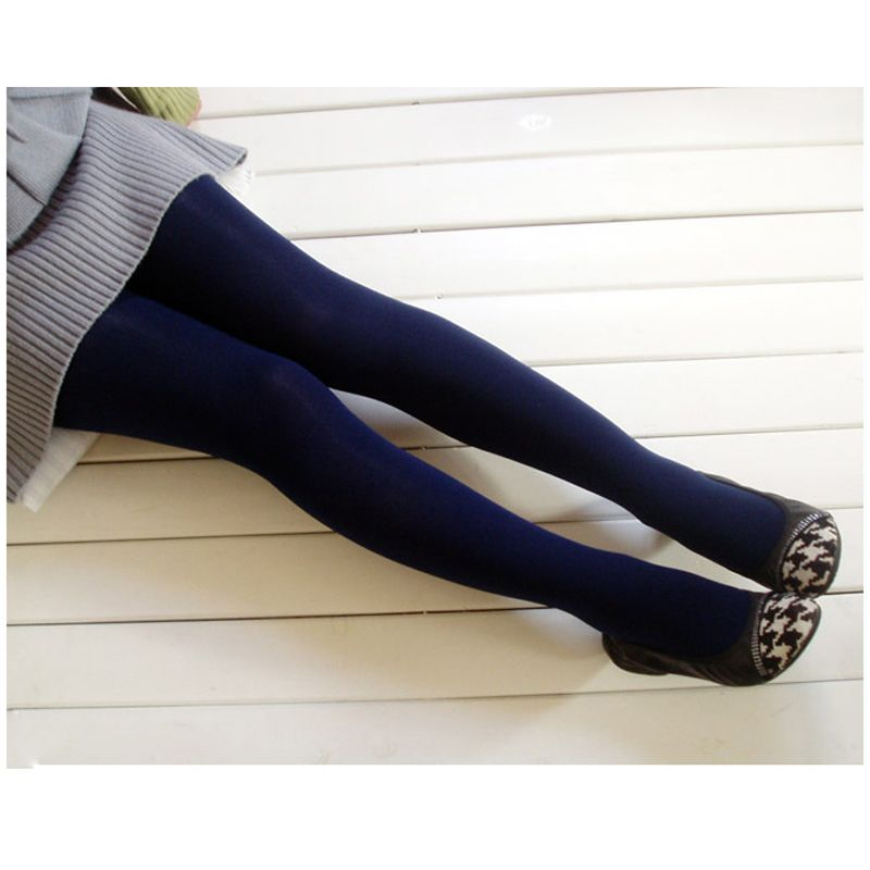 Marine Blue Pantyhose In