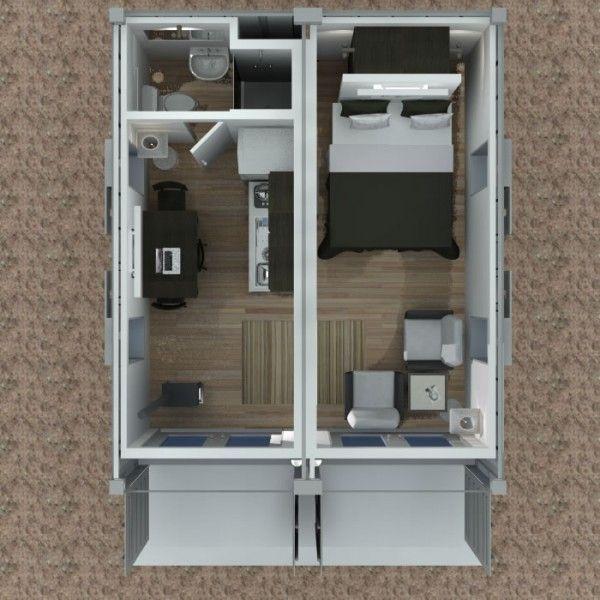 Maison dans un conteneur Archi plan Pinterest Conteneurs - Creer Un Plan De Maison