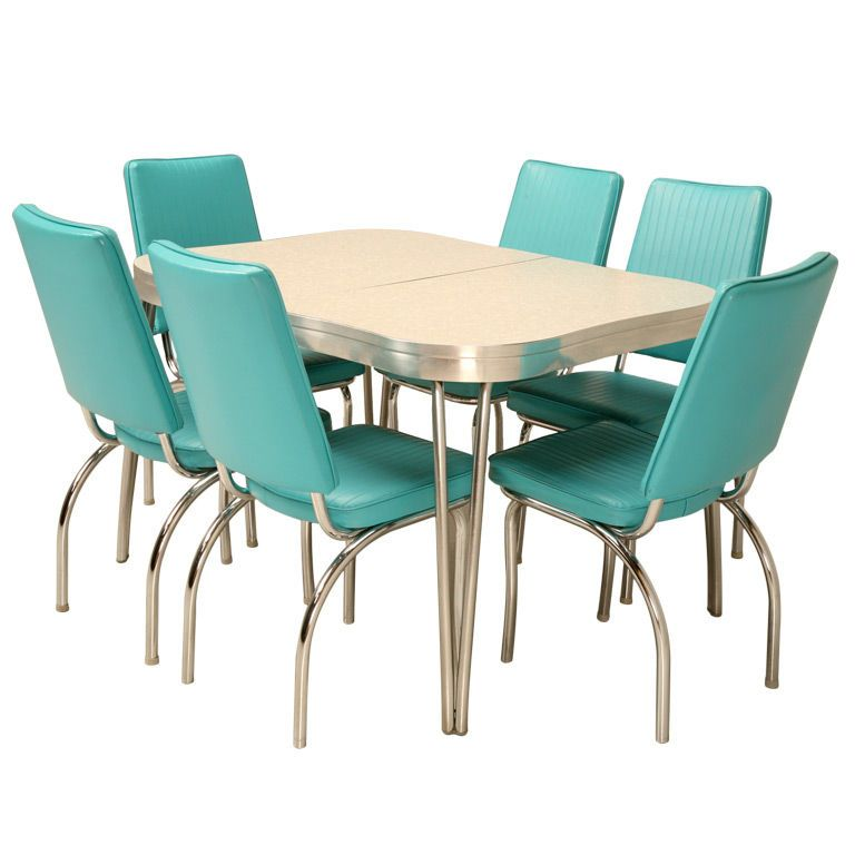 Lucite Four Chairs Table Dinette Set Kitchen Table Settings Retro Kitchen Tables Dinette Sets Retro dinette sets for sale