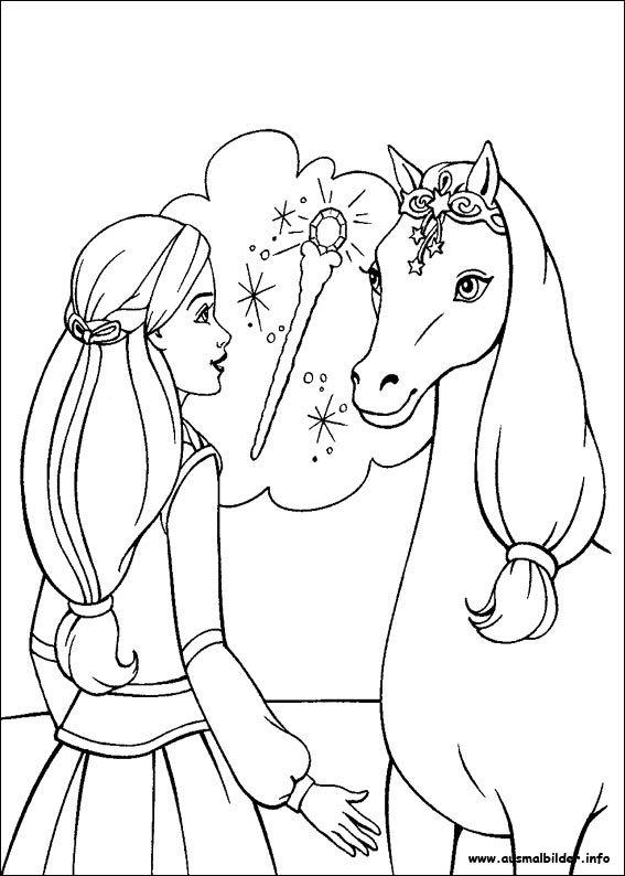 Ausmalbilder Pferde Barbie Malvorlagen Pferde Malvorlagen Barbie Malvorlagen