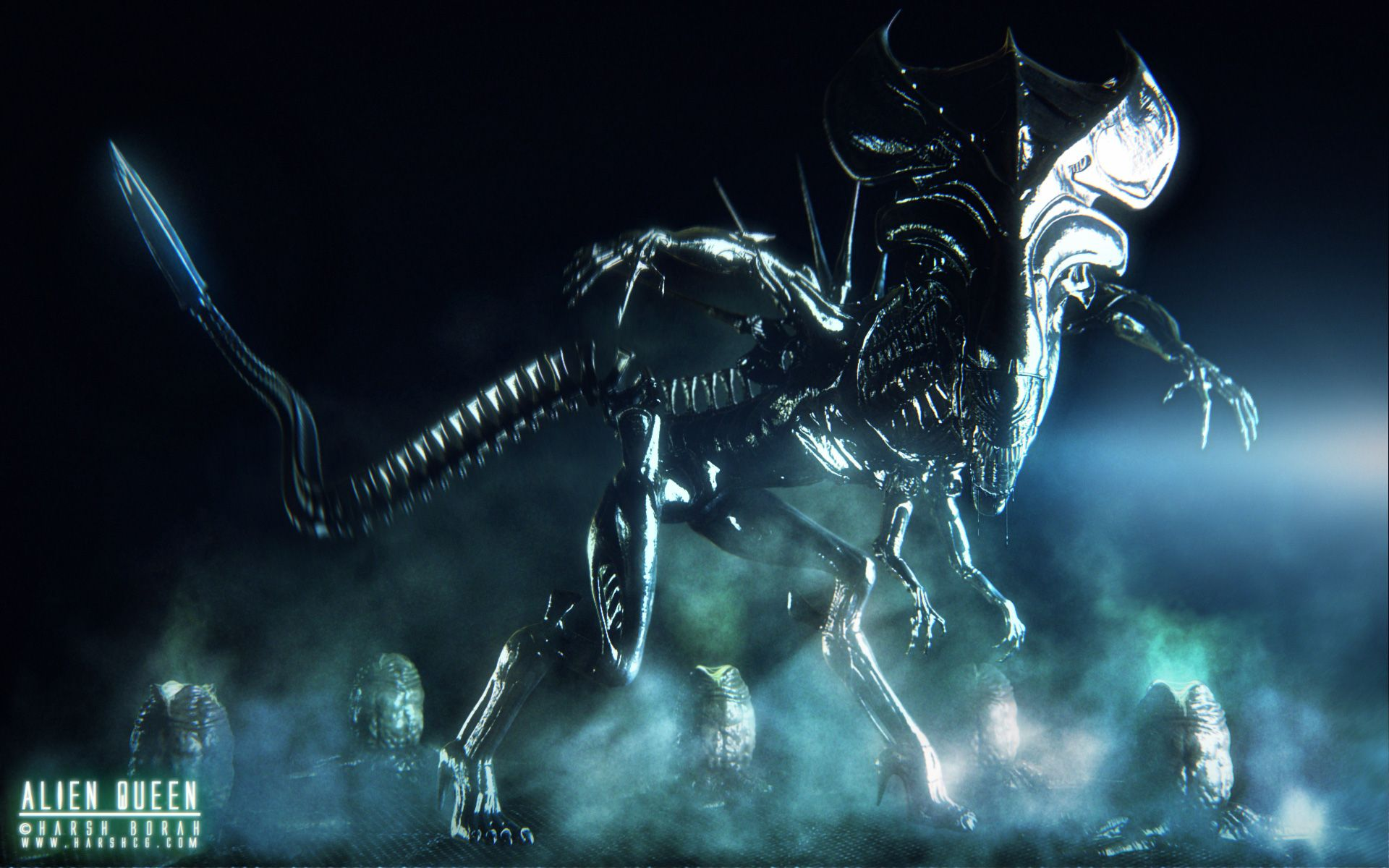 Aliens Queen Xenomorph Wallpaper Alien Queen Aliens Movie