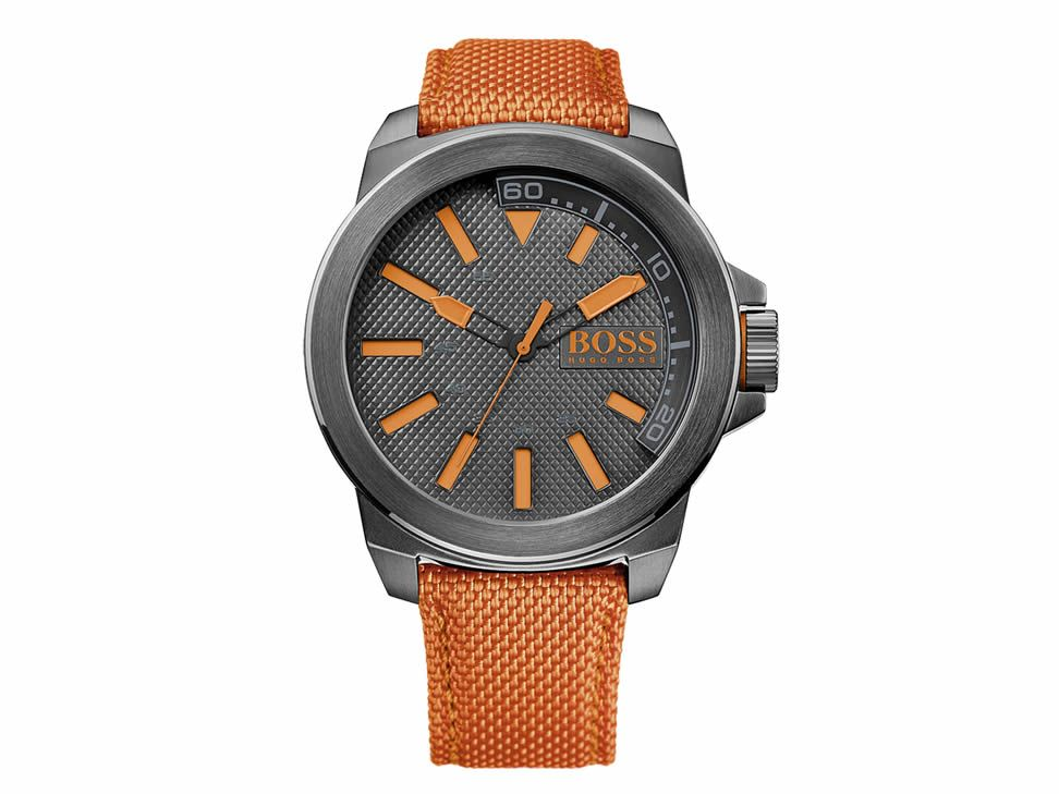 d55b06ca79f5 Reloj Hugo Boss Orange Negro 1513010 para Caballero