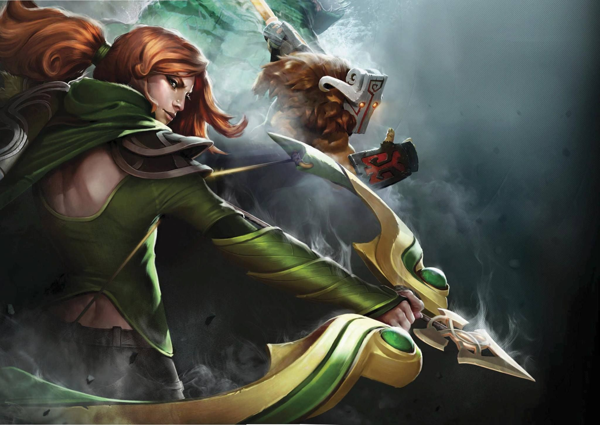 Windrunner Dota 2 Heroes Wallpaper HD
