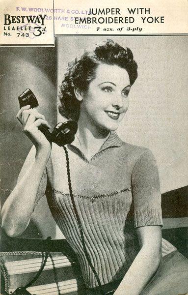 1940s knit