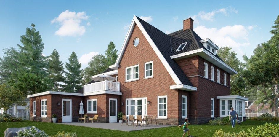 Inspiratie voor het bouwen van een jaren30 woning jaren 30 woning bouwen - Stijl eengezinswoning ...