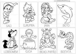 Resultado de imagem para atividades folclore educação infantil