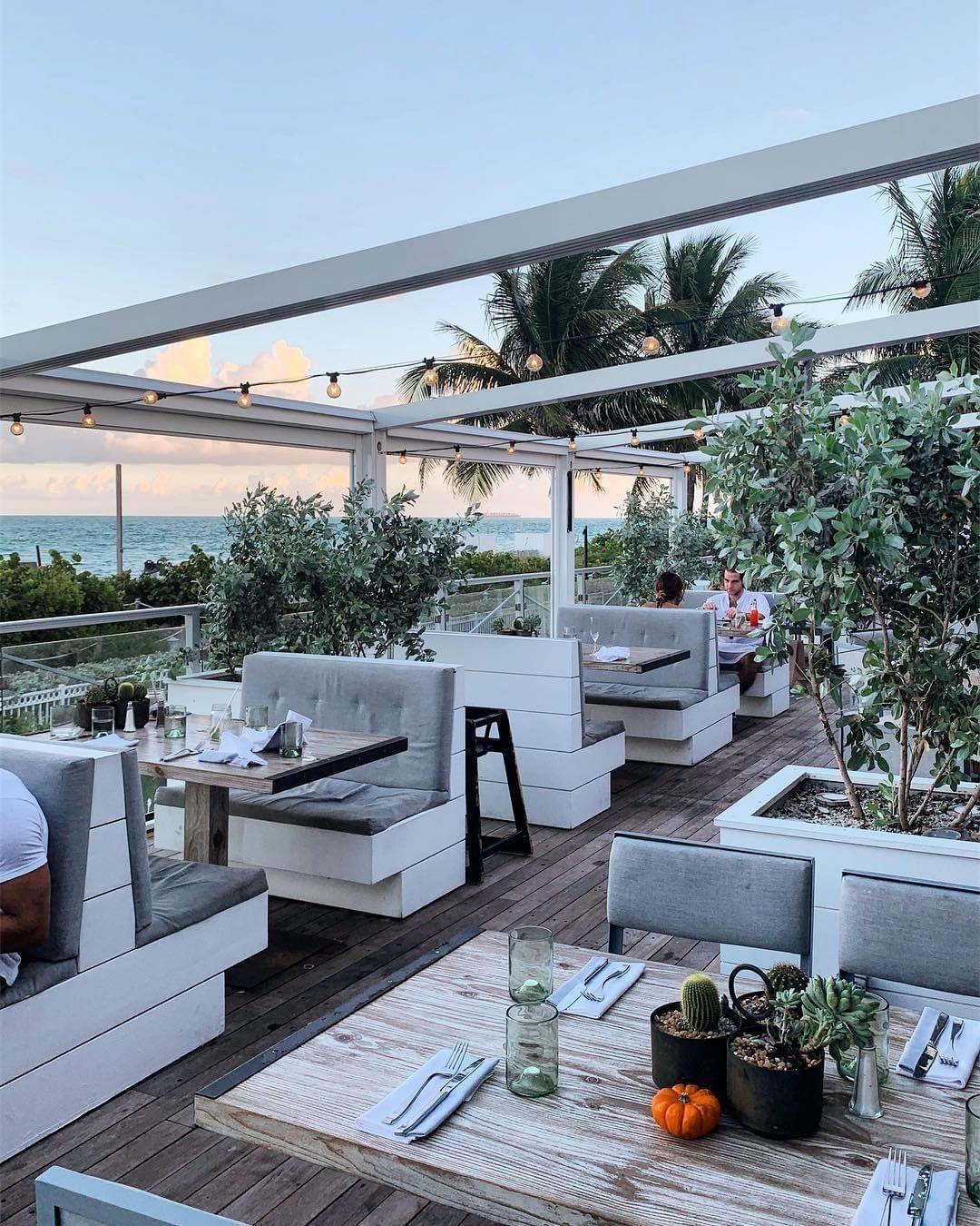 Malibu Farms Malibu Farm Miami Beach Outdoor Furniture Sets