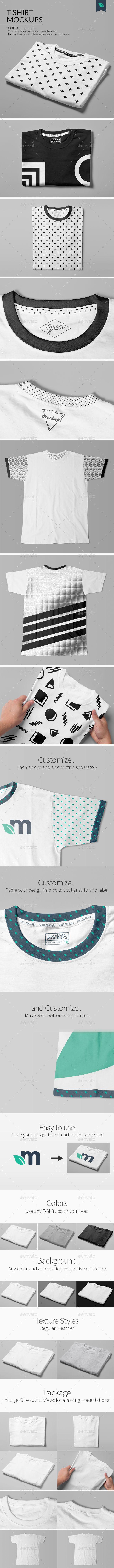 T Shirt Mockups Studio Edition