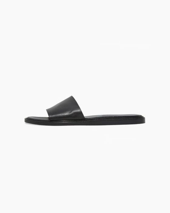 "<strong>Common Projects, $390 at <a href=""http://www.lagarconne.com/store/item.htm?itemid=24468"">La Garconne</a></strong>: Fancy shower slides!"