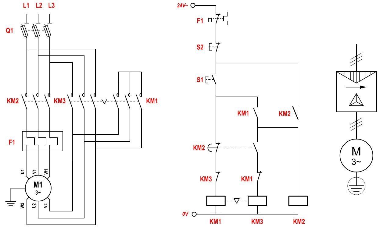 triangle fan wiring diagram d marrage des moteurs asynchrone triphas s demarrage etoiledemarrage etoile triangle [ 1246 x 755 Pixel ]