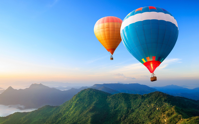 Desktophdwallpaper Org Hot Air Balloon Wallpaper Air Balloon Wallpaper Balloon Wallpaper