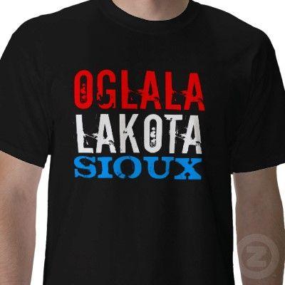 OGLALA LAKOTA SIOUX TSHIRT from http://www.zazzle.com/south+dakota+tshirts