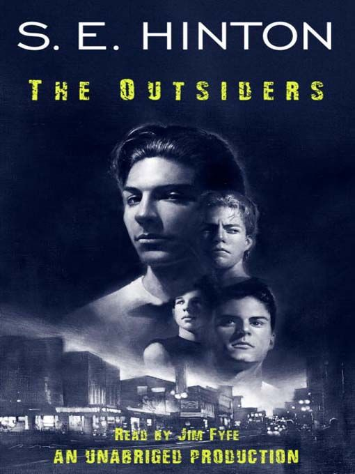 Se Hinton The Outsiders Book Cover