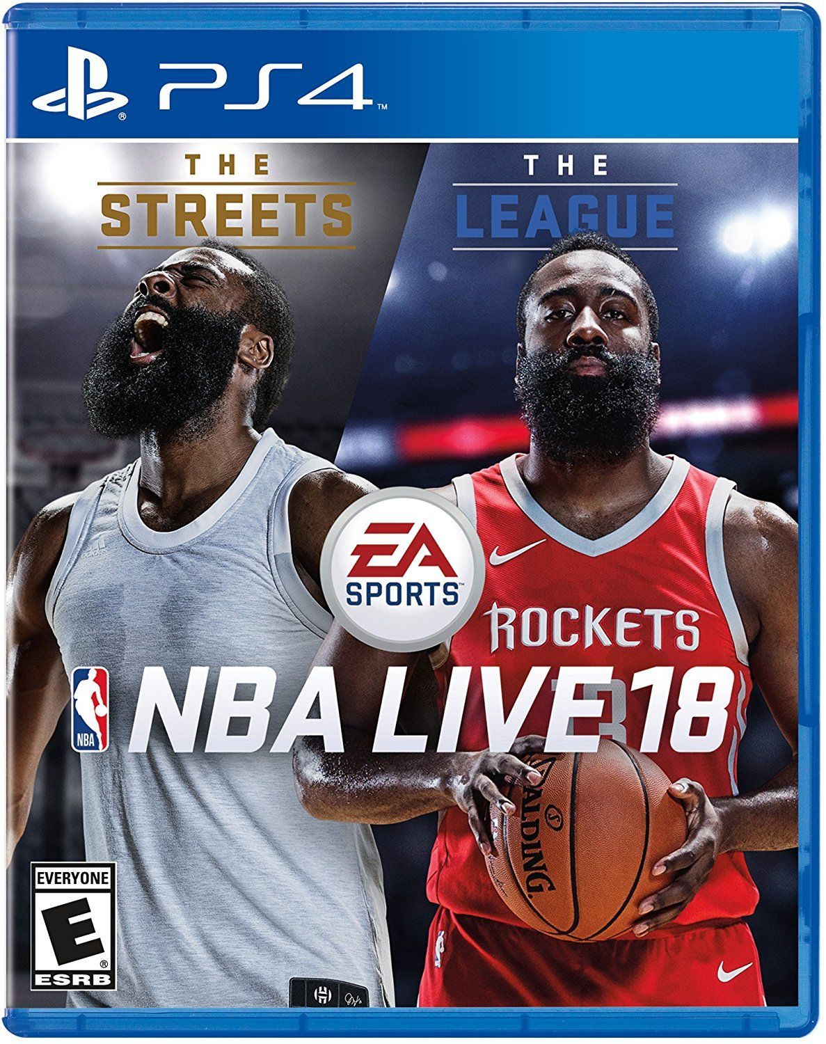 857ef2b7367e NBA Live 18 Game Cover PS4