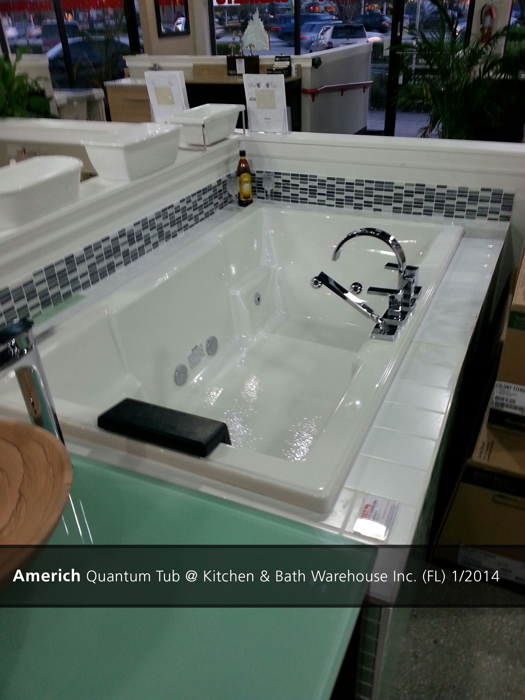 Americh Quantum Tub @ Kitchen & Bath Warehouse Inc. (FL) - 2014 ...