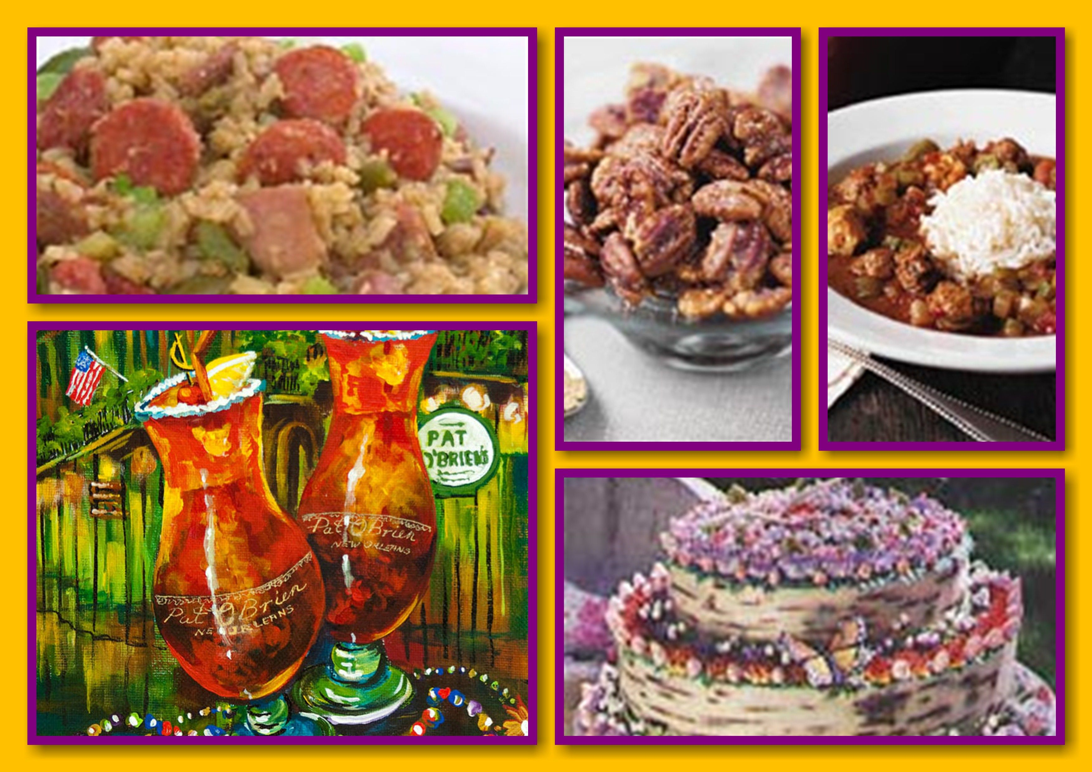 mardi gras food & drink recipes | party | pinterest | mardi gras