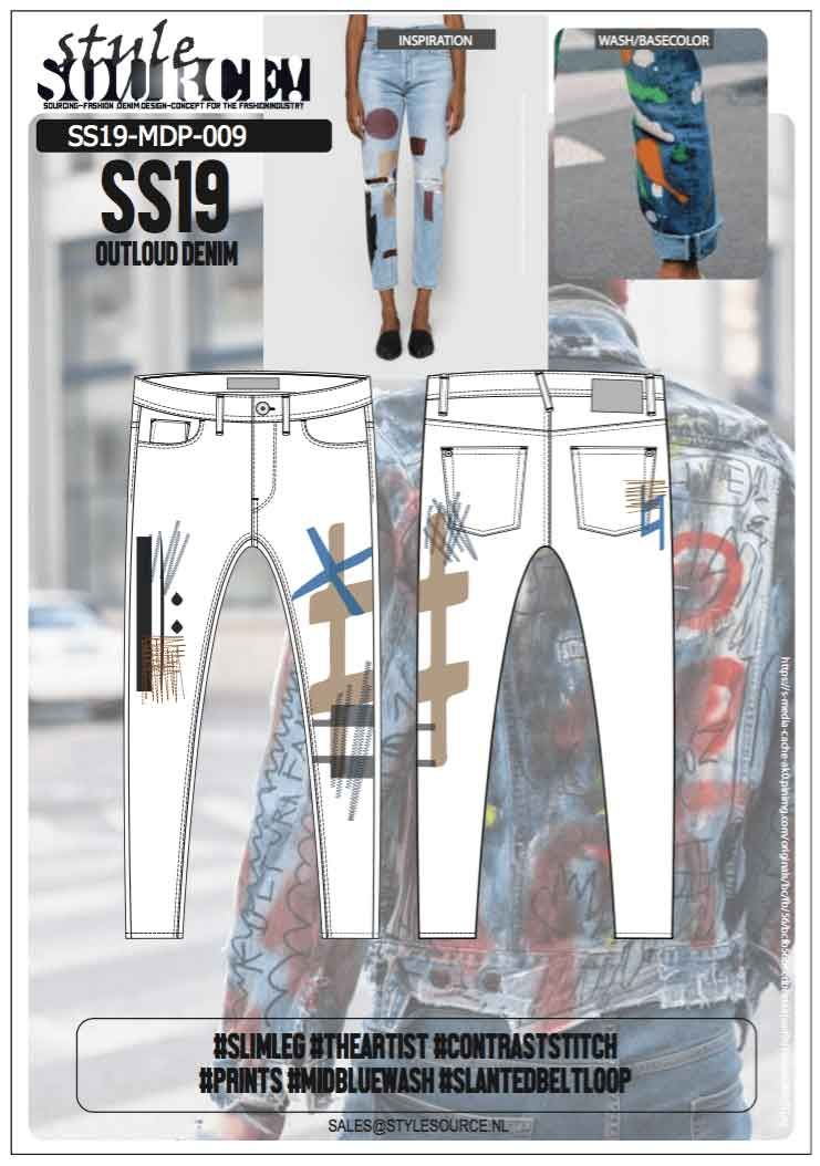 European Denim Designers Online Pantolon