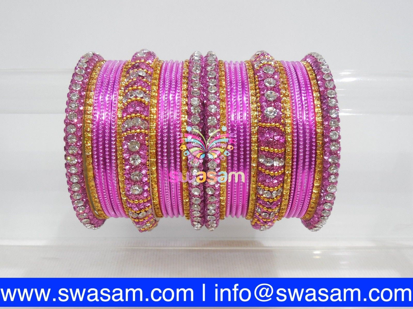 yaalz img set products thread wear bangle pink mehandi party jumka rani green and bangles silk colo earring colors in metal