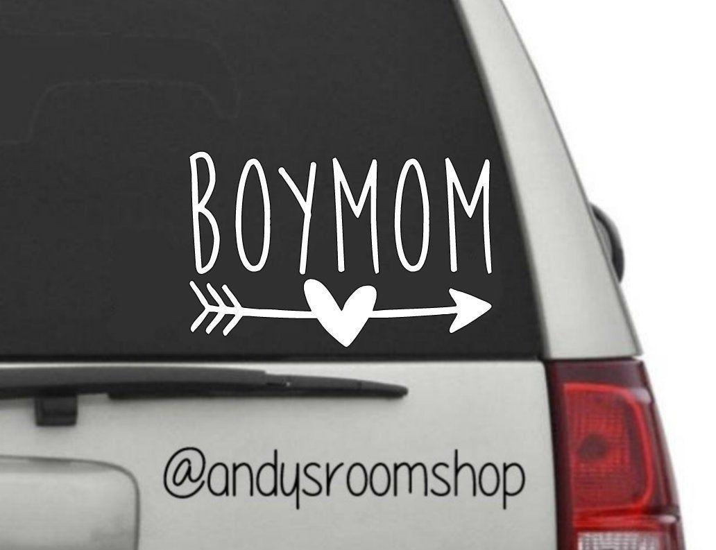 Boy Mom Car Decal 2 Design Options Mom Car Car Decals Boy Mom [ 793 x 1032 Pixel ]