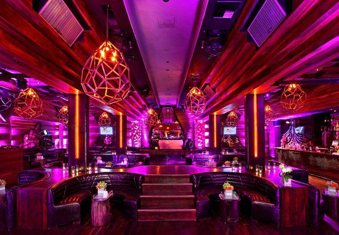 Us Magazine Party Hot Pink Lighting Night Club Decor For Weddings Ideas Nightclub Lighting Nightclub Design Night Club