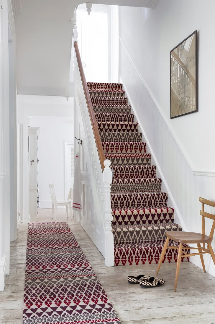 Best Quirky B Fair Isle Margo Selby Collection Carpet Stairs 400 x 300