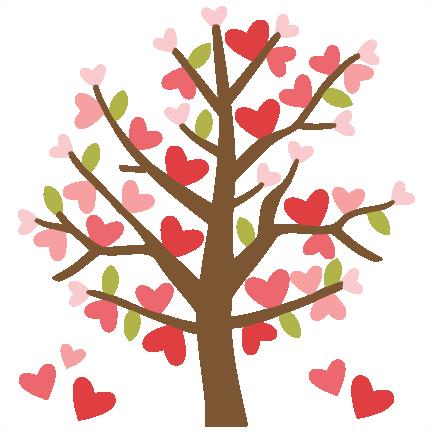 valentine tree svg cutting files valentines day clipart cute clipart rh pinterest com au valentine's day clip art free cute animals valentines day clipart free microsoft