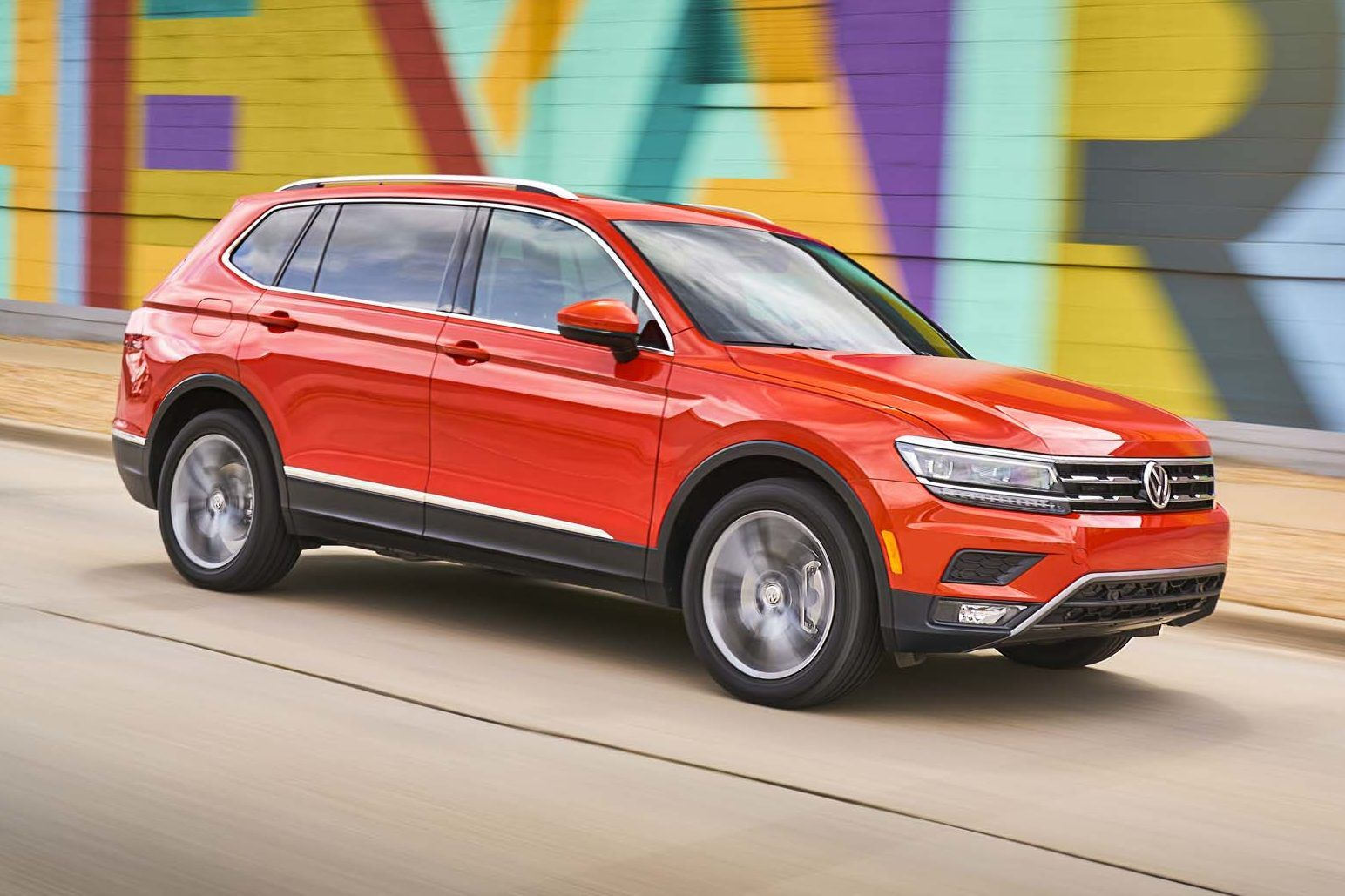 Vw Tiguan Xl Spied In India Again To Be Launched In 2020 Suv Models Vw Passat Skoda Kodiaq