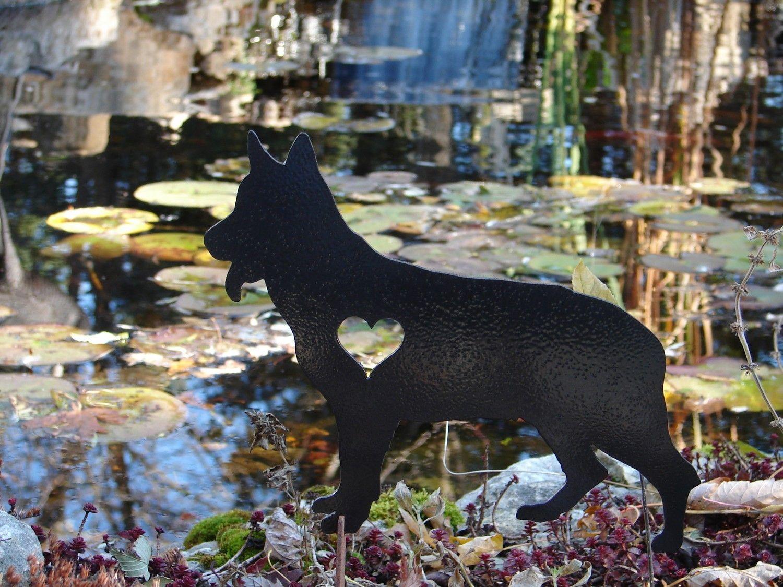 2014 outdoor decor ideas german shepherd pet dog memorial garden