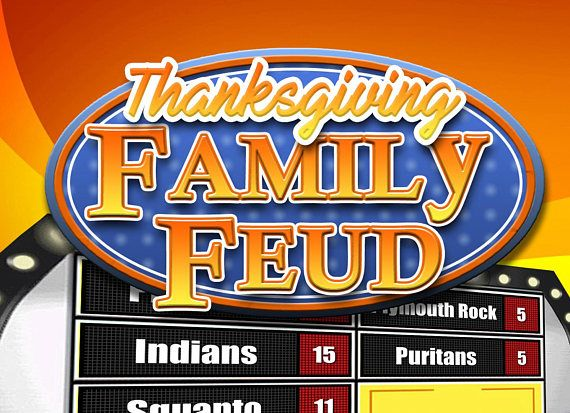 this thanksgiving family feud style trivia powerpoint game is sure, Powerpoint templates